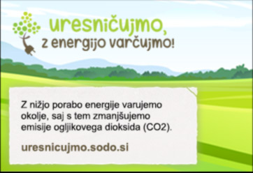 uresničujmo, z energijo varčujmo!